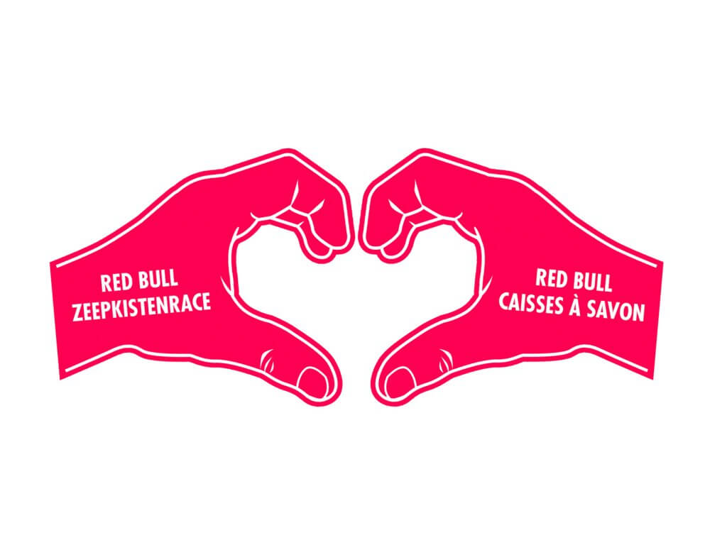 Foam-hand-love-sign-pink-redbull